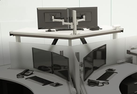 Top 5 Reasons to Use Modular Monitor Mounting - ATDEC